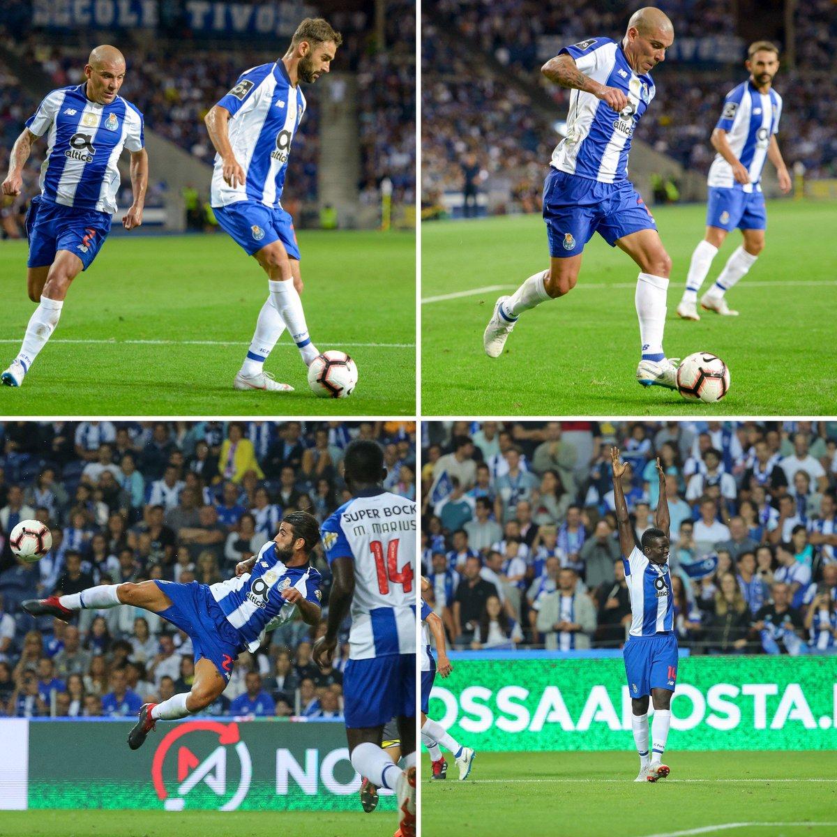 ⚽ 1 golo em 4 imagens 📸 #FCPorto #FCPGDC #estadiododragao