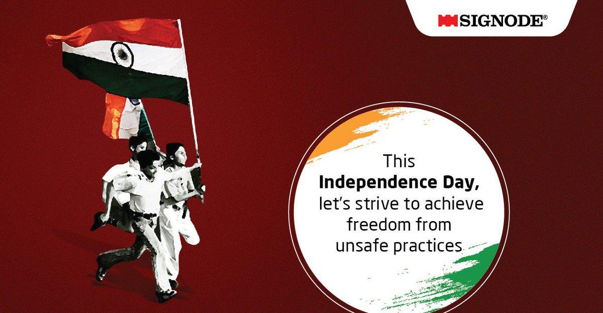Signode India Ltd Celebrating Freedom The Signode Way