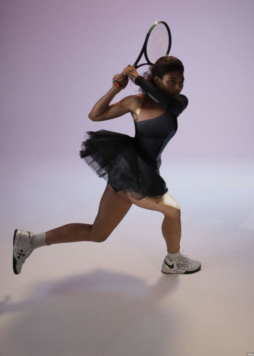 It really embodies what I always say: that you can be strong and beautiful at the same time. @serenawilliams will wear a $500 dress with a tutu to the US Open: gma.abc/2w1dSjq
