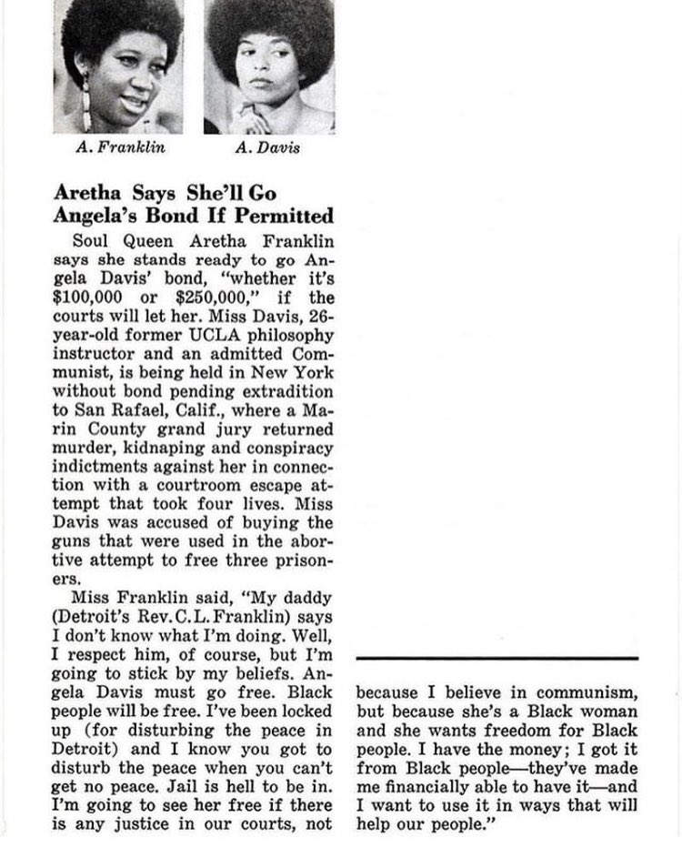 The Bail Project's photo on #ArethaFranklin