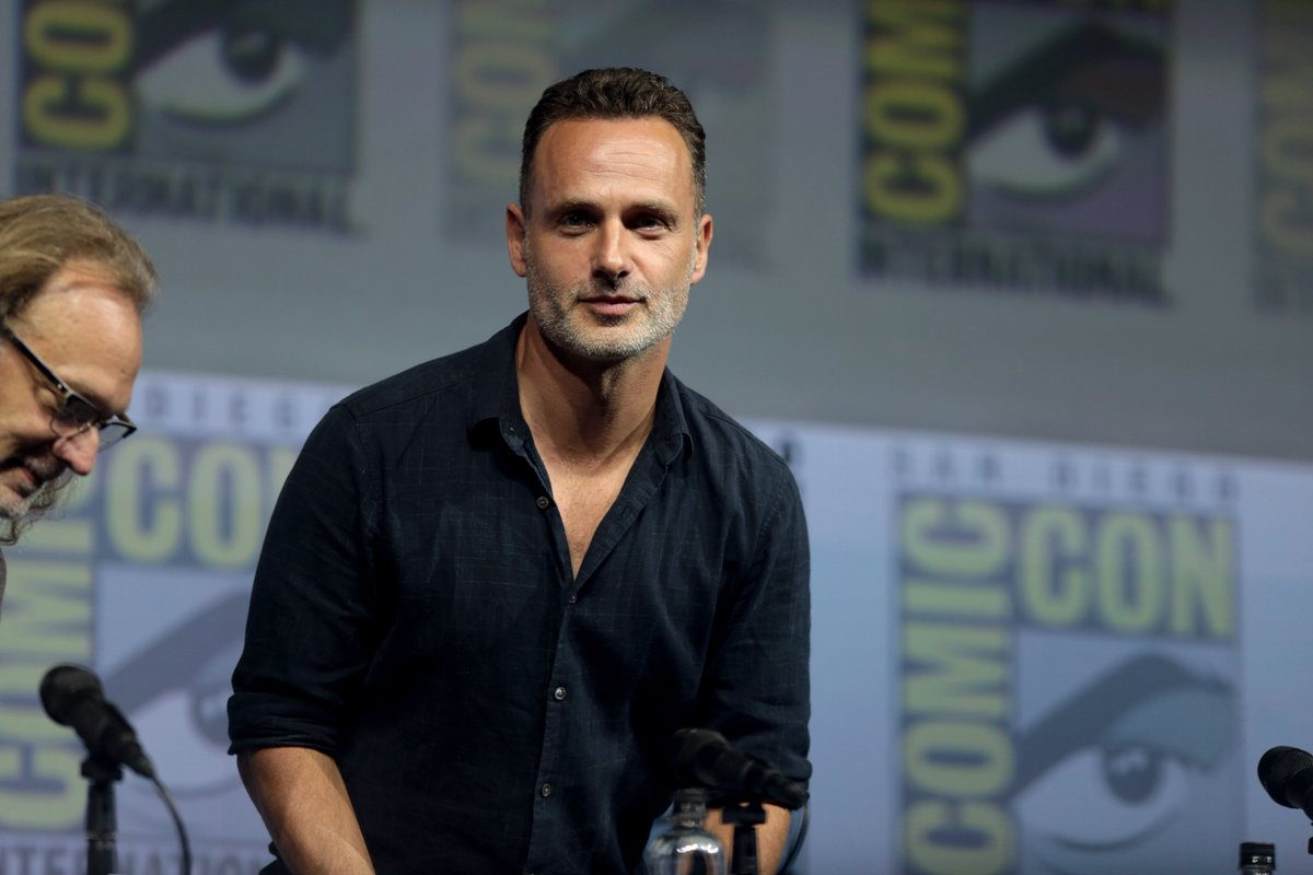 #AndrewLincoln at AMC&#39;s The Walking Dead Panel at San Diego Comic-Con on July 20, 2018 in San Diego, California. #SDCC   #RickGrimes #TheWalkingDead #TWD    Gage Skidmore<br>http://pic.twitter.com/IpOGNcC68y