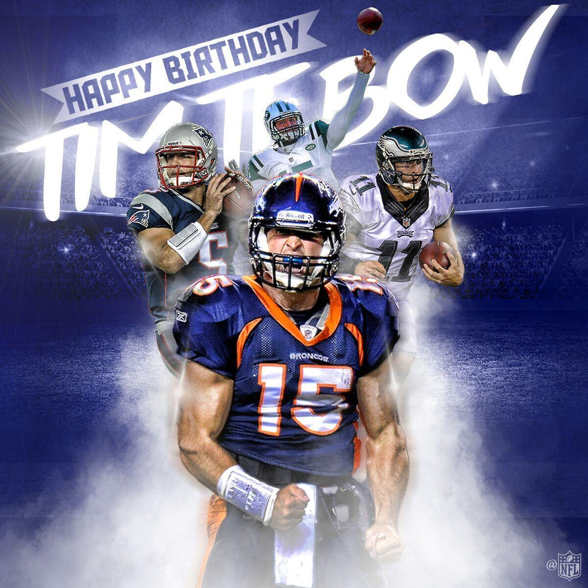 Join us in wishing @TimTebow a HAPPY BIRTHDAY! �� https://t.co/iLYSjhfGp0