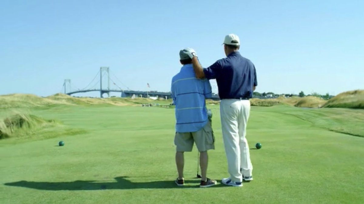 If anyone caught the PGA's Reach/Hope commercials that aired during the PGA Championship you may have noticed a familiar backdrop, Sanford Golf Design's @TrumpFerryPoint. For more on the PGA's Hope program visit pgareach.org/services/milit…