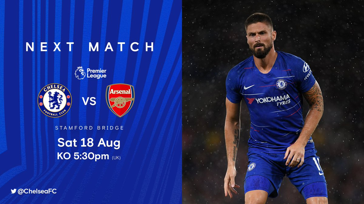 Back at the Bridge for a London derby on Saturday! 👊