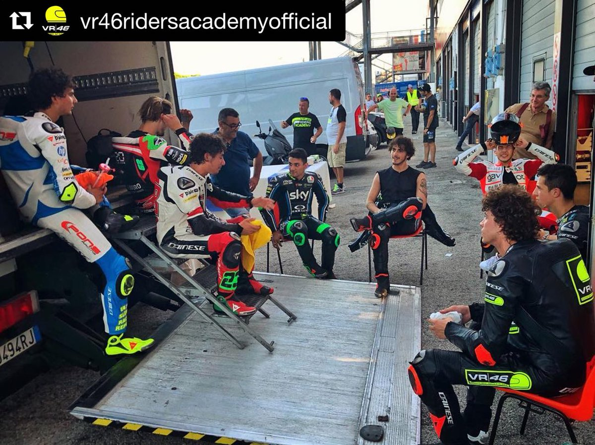 Firstly: August 15th with our friends  #SkyVR46 #Regram @VRRidersAcademy<br>http://pic.twitter.com/O9IkRrwRcq