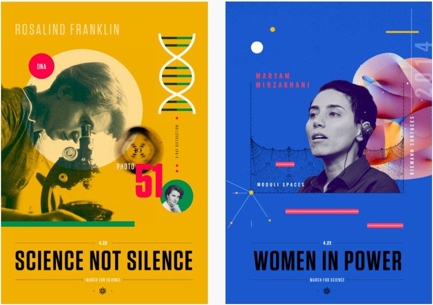 Sur le même thème, cette artiste fait des affiches magnifiques pour promouvoir la visibilité de role models féminins en science   https://www. beyondcurie.com/mfs/  &nbsp;  <br>http://pic.twitter.com/foPoMr8IxN