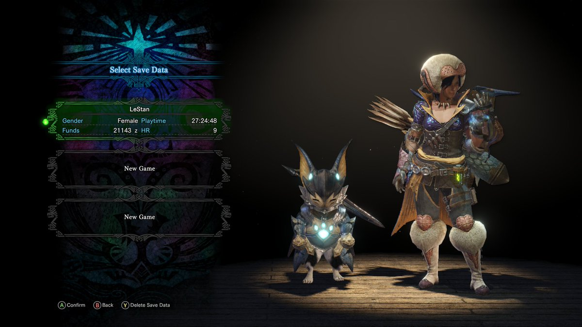 My low-level mixed set is so ugly 😂 #MHW
