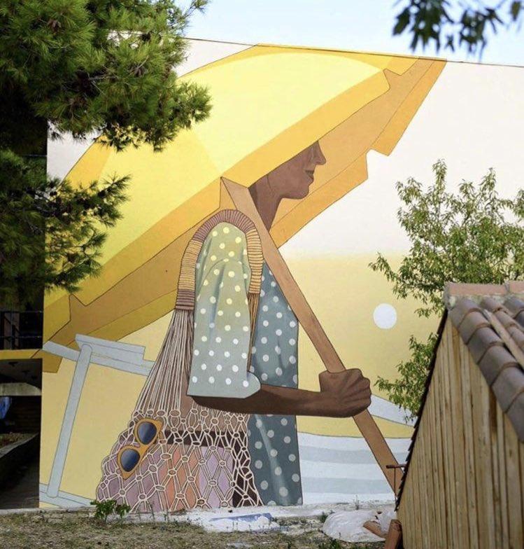 Summer vibes  #StreetArt by Artez in Bol #Croatia<br>http://pic.twitter.com/QfEFxYrIyv