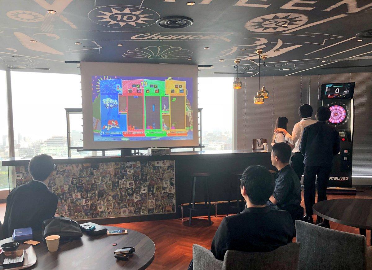 新オフィスに引越して1週間、食堂に「Nintendo Switch(私物)」を持ち込むセガ社員が現れた  #セガ新オフィス