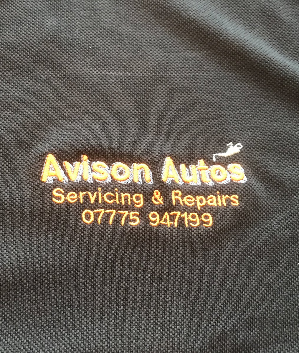 Stitchthat Printthat On Twitter Embroidered Workwear Polo Shirts