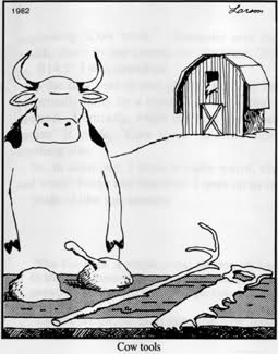 Happy birthday to Gary Larson, who made the best newspaper comic strip of all time.