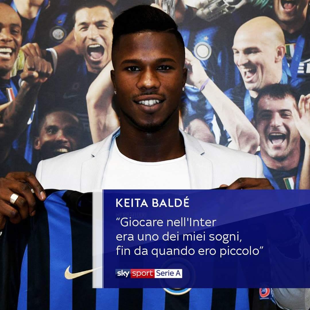 Non avevamo dubbi.#Keita #KeitaBalde #Inter #calciomercato #skycalciomercato  - Ukustom