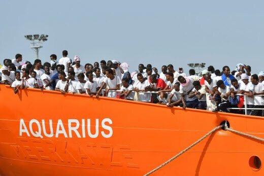 Aquarius : Macron impose aux Français des centaines de clandestins supplémentaires !