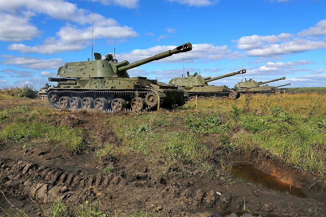 На полигонах ВВО стартовали учения артиллерийских подразделений s.mil.ru/2KSrPpg #Минобороны #ВВО #Учения