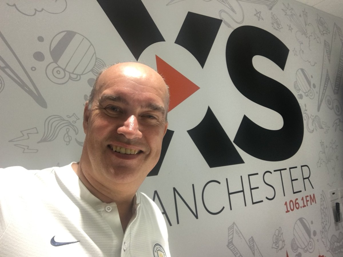 As well as the joy of chatting to @Paul_Lake tonight on @XSManchester 106.1FM , we'll be joined by @OfficialSGoater  We start at 6pm - don't be late now, be like @kylewalker2 and be ready to go from the start  <br>http://pic.twitter.com/q5hEg79o8e
