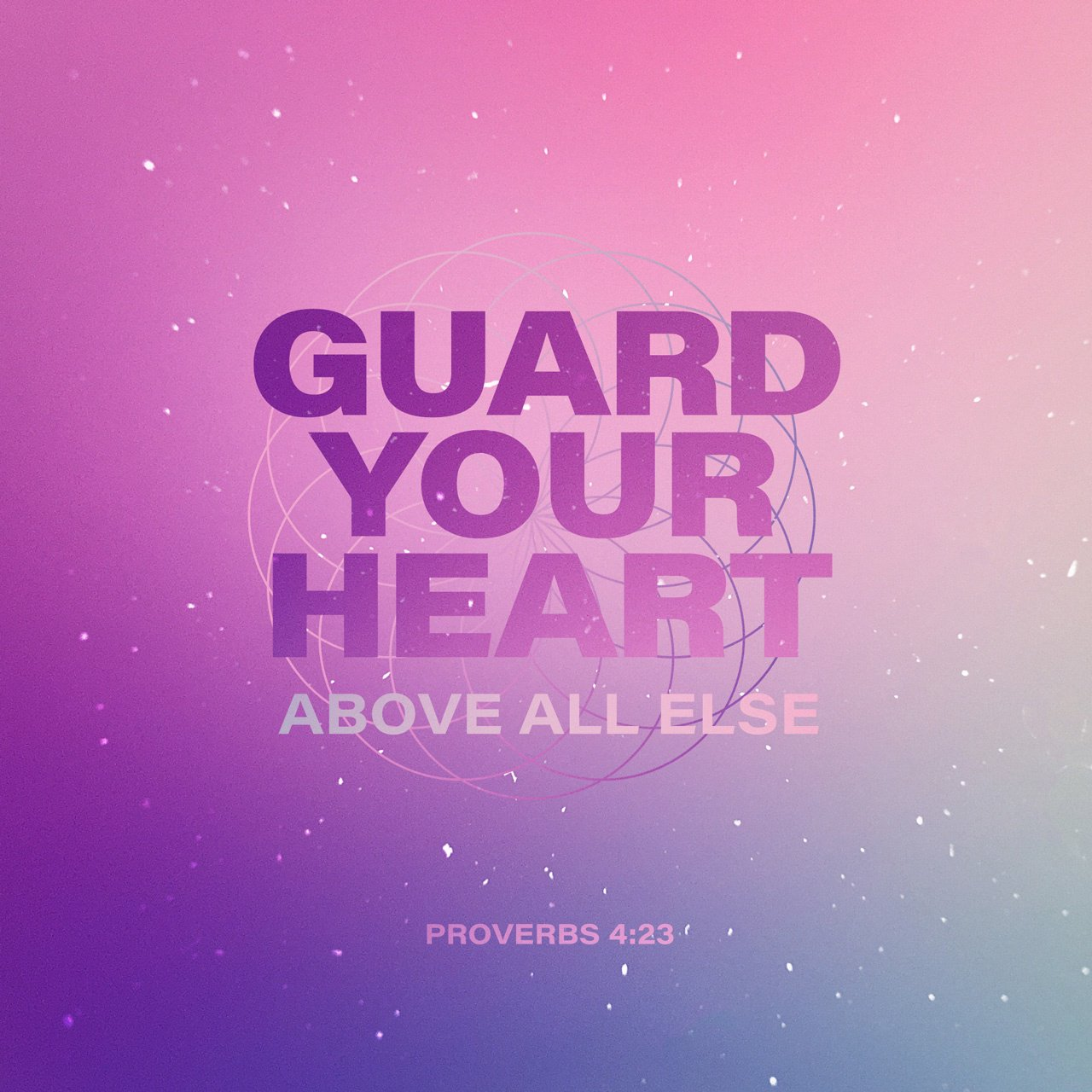 Guard your heart above all else, for it determines the course of your life. https://t.co/yCX6FUmiZL https://t.co/raTYFftpEO