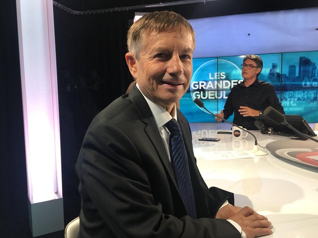 Et c'est @Joaquim_PUEYO, député PS de l'Orne et ancien directeur des prisons de Fleury-Merogis et de Fresnes, qui passe le #GrandOral des #GGRMC ! 😎 @numero23tv