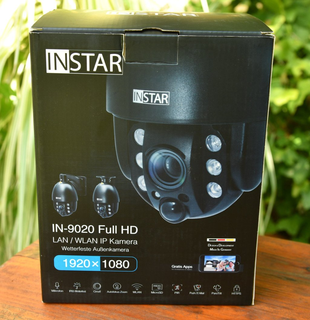 Instar IN-9020 Full HD francais