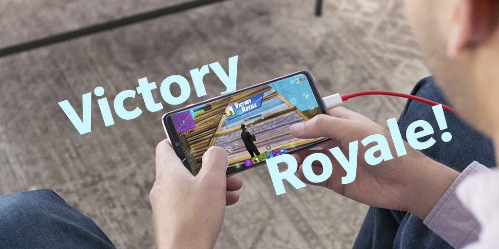 Are you ready for @FortniteGame on the #OnePlus6? Share your Victory Royale screenshots!<br>http://pic.twitter.com/yV2I5Tl21U