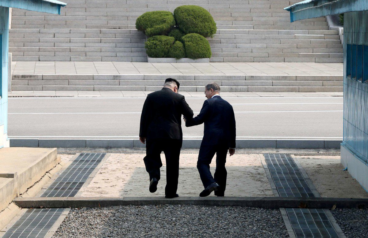 Peace on the Korean peninsula will only happen when the US is happy https://t.co/4vpVsb0Fzi