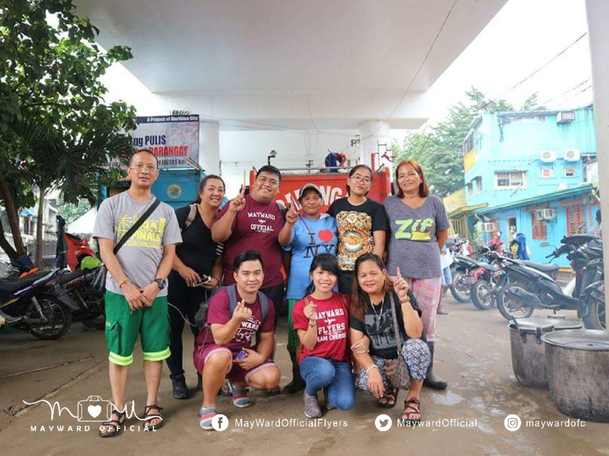 Maraming salamat to our volunteers &amp; staffs of Barangay Tumana for helping us out. Thank you Hon. Ziffred Ancheta. Thank you Barangay Tumana for your smiles today. See you again this Friday, August 17, for the Relief Operation.  #TheDreamInBaguio  @maymayentrata07 @Barber_Edward_<br>http://pic.twitter.com/VVGXZaQupn