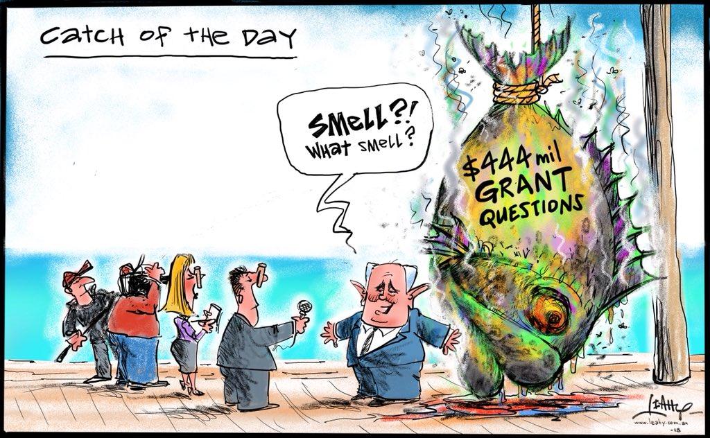 Leahy Cartoons's photo on #abc730