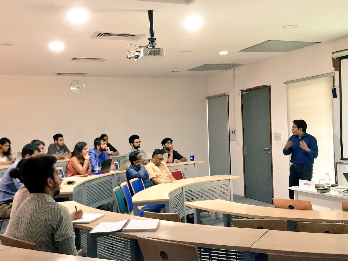 A 'masterclass' on the Insolvency and Bankruptcy Code at OP Jindal Global University. Photo credit: Twitter/Jindal Global