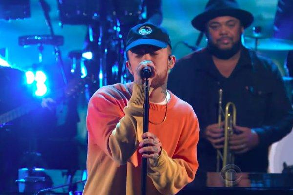 Watch @MacMiller Perform 'Letters' on @ColbertLateShow https://t.co/sgutsDo6UH https://t.co/f35k13pXzl