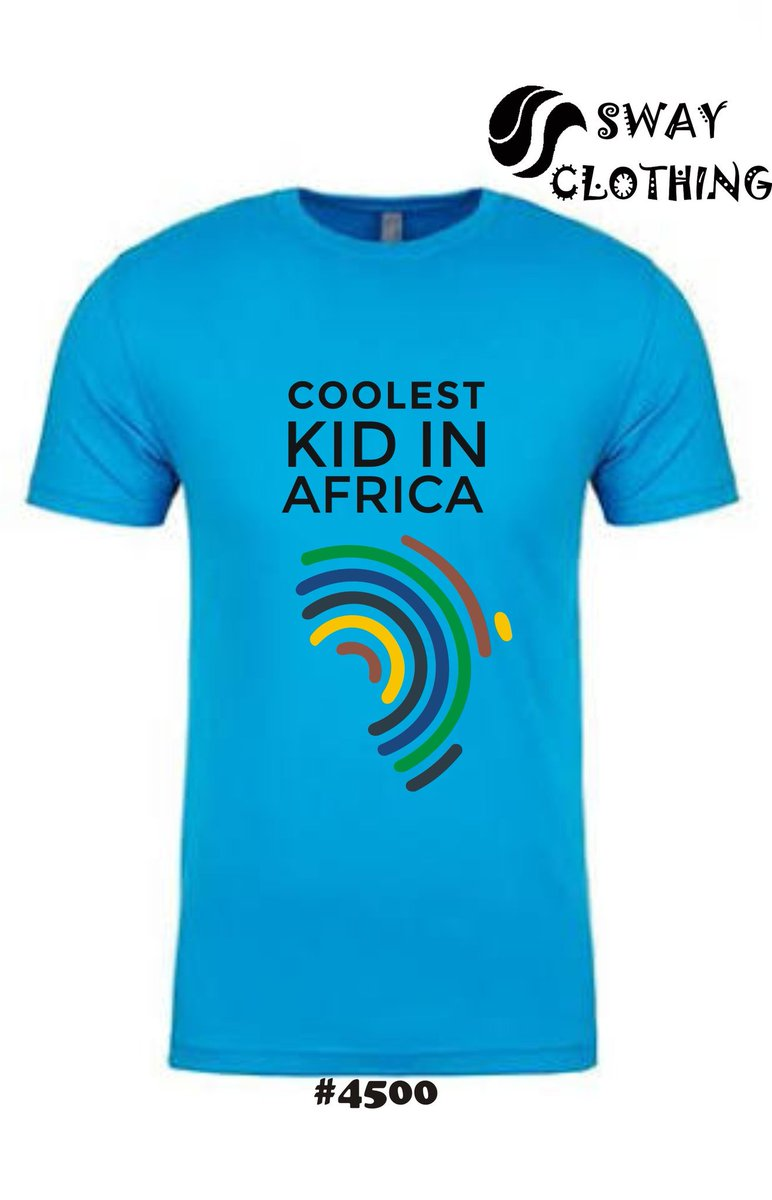 Let&#39;s talk about tees. Got that killer casual event you wanna attend and you looking for a cool t-shirt to sport, well look no further. We have this esoteric design we tagged &#39;Coolest Kid in Africa&#39;. Comes in various sizes and colours.   August Rush Offer lasts till 31st August.<br>http://pic.twitter.com/sO3Mnncnwf