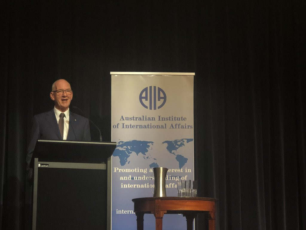 So proud to be apart of @AIIA_Qld and seeing yet again another successful annual dinner take place with Allan Gyngell as keynote! @caitebyrne @AIIANational @MConleytyler @Profagriffiths @timdunneAPR2P