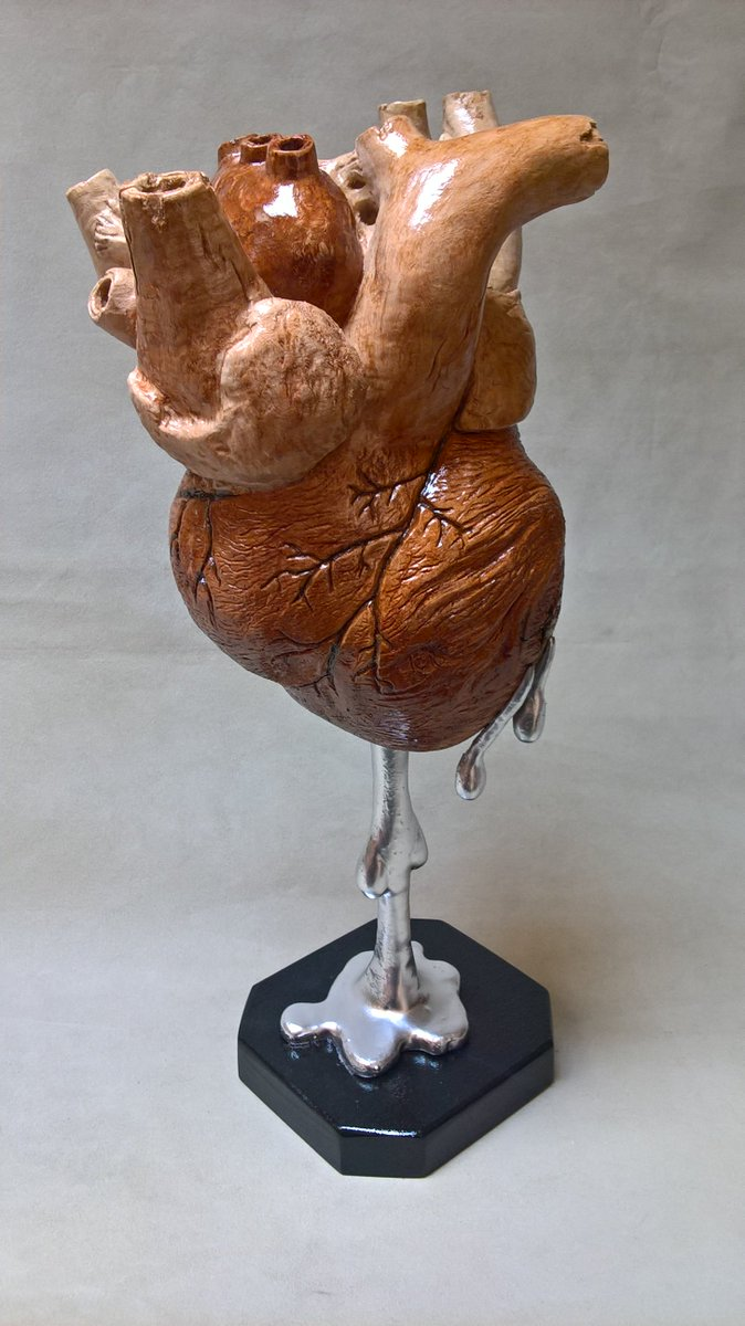 MERCURIALIS, basswood - artist Marco BianchiniSHOP:  https:// www.etsy.com/shop/BiomorphicWoodArt#art #carving #wood #sculpture #woodworking #woodcarving #heart #anatomy #woodsculpture #woodart #basswood #sculptures #artsculpture #arte #woodturning #legno #crazywoodworm #biomorphic #woodsculptures  - Ukustom