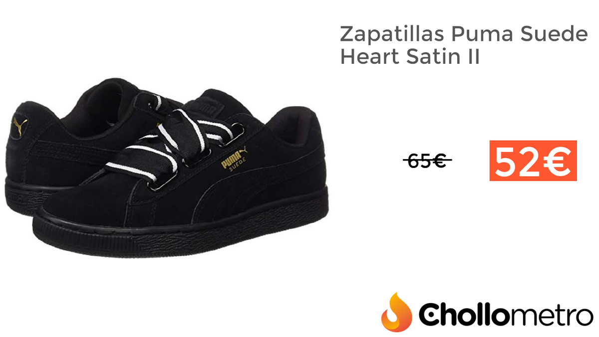 Chollometro on Twitter: #CHOLLO Zapatillas Puma Suede Heart