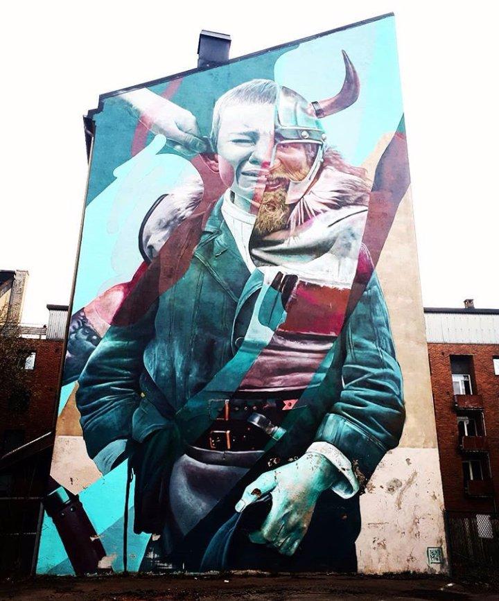 .                The Circle of Life   #streetart #graffiti  #mural #painting<br>http://pic.twitter.com/kpTdl1uK3F
