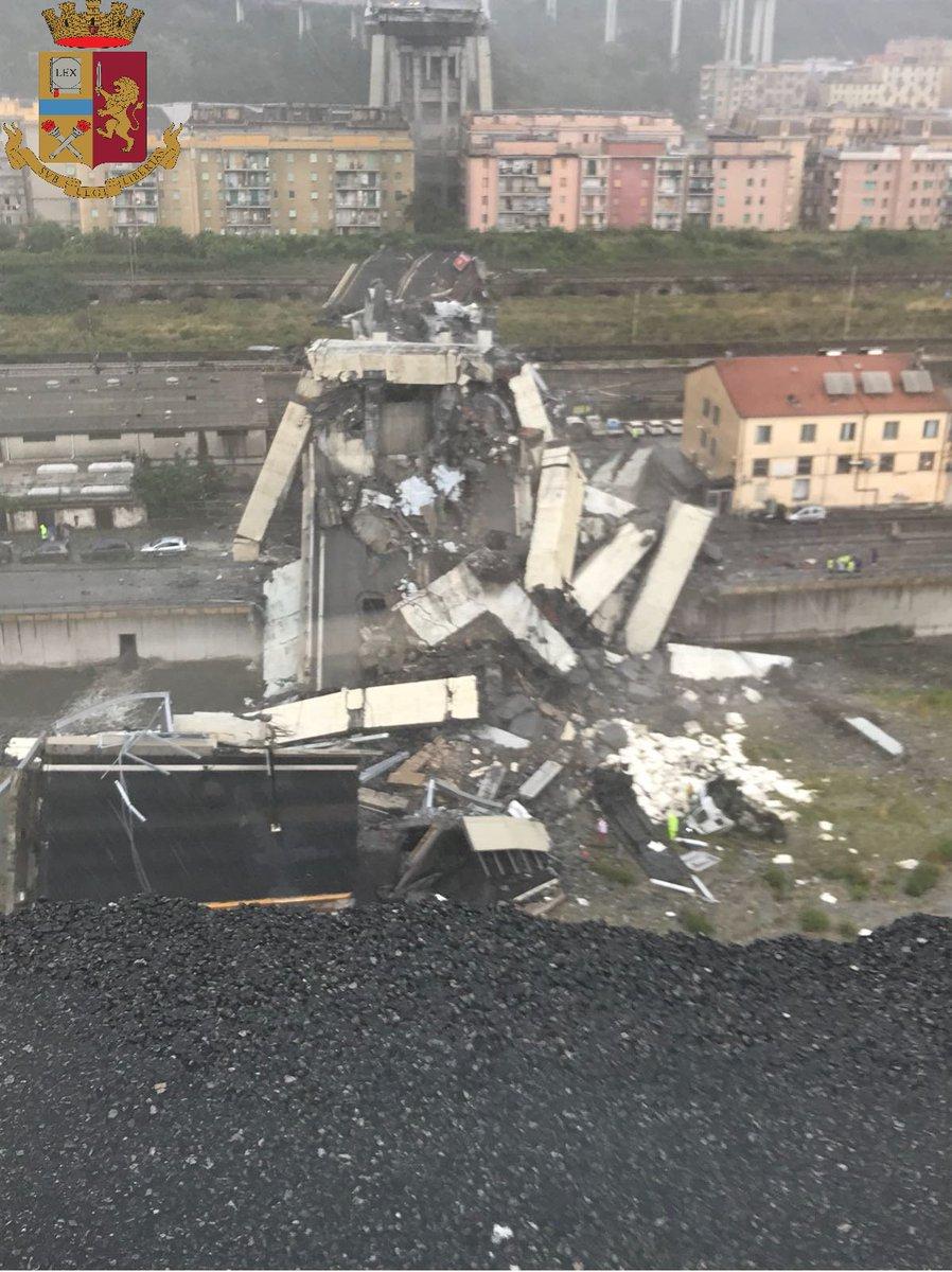 Τραγωδία σε κατάρρευση οδογέφυρας στη Γένοβα – 30 νεκροί - Αυξάνεται συνεχώς ο αριθμός τους