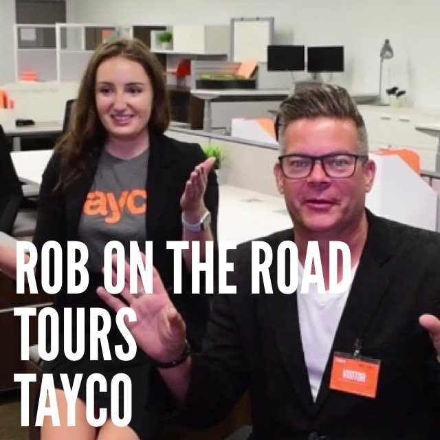 Join Rob on the Road for a tour of the Tayco factory - the maker of amazing office furniture and board rooms that will blow your mind. Watch this:  http:// ow.ly/lDwd30loqb1  &nbsp;    @1059ROTR @1059TheRegion #furniture #officefurniture #video #design<br>http://pic.twitter.com/T0ADq27SZT