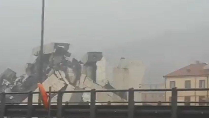 'Inmensa tragedia': 'Decenas de muertos' al derrumbarse un viaducto de una autopista en Italia VIDEO https://t.co/YB4RON1LJU