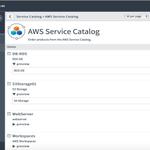 Image for the Tweet beginning: Synchronize your AWS Service Catalog