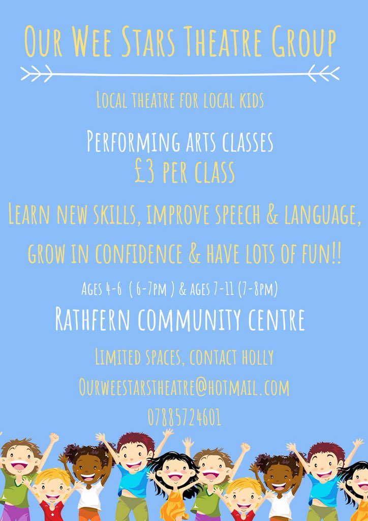 test Twitter Media - 🌟 Classes are nearly FULL 🌟 Starting 10th September 🎭 #newtownabbey #artsni #artsmatterni #performingarts https://t.co/c1E0mtFzA1