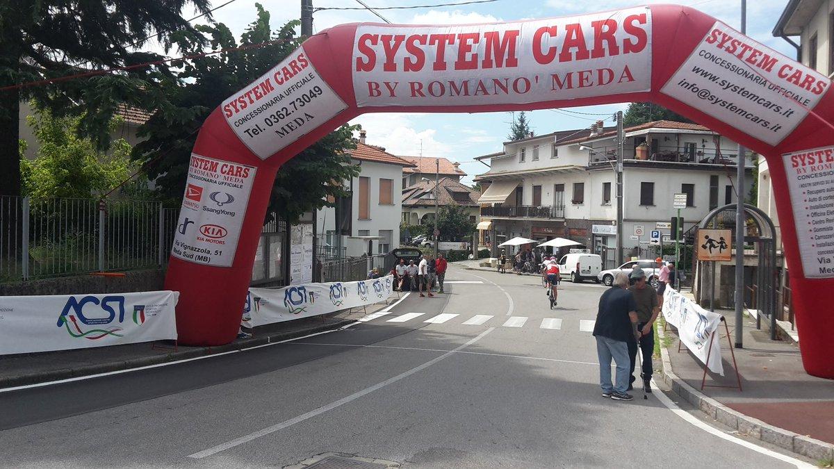 Siamo a #Cremnago #Inverigo per commentare la #terzatappa del #GirodellaBrianza #ciclismo #SportAnnouncer  - Ukustom