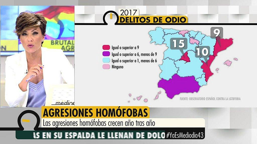 Madrid encabeza el lamentable ranking de delitos de odio #YaEsMediodía43 bit.ly/2nBG3BS