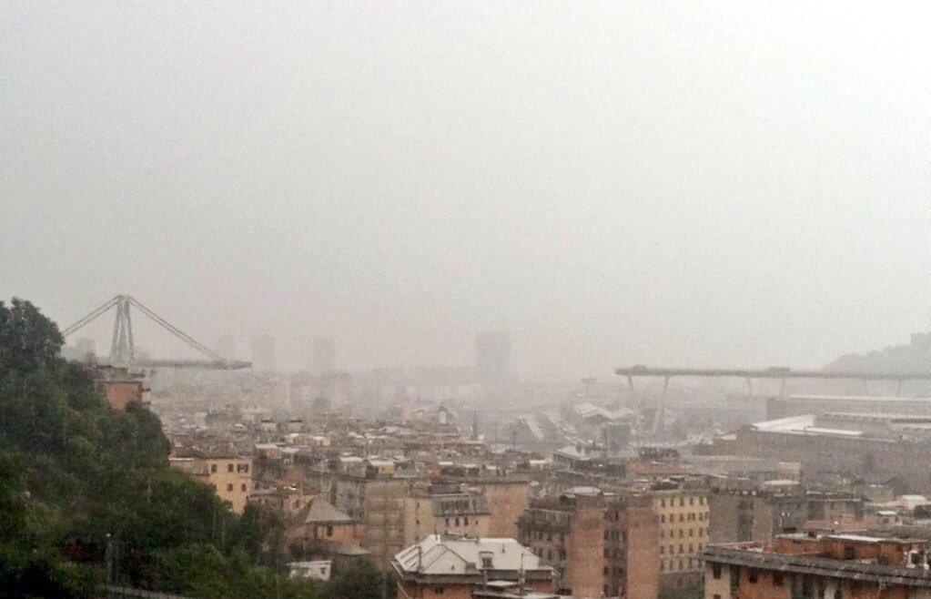 Crollo ponte Genova – Il cordoglio della SS Lazio
