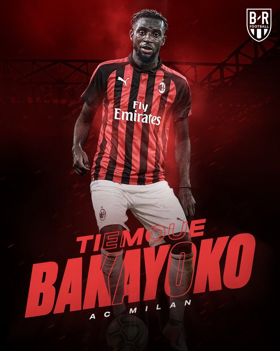 OFFICIAL: Tiemoue Bakayoko joins AC Milan on loan with option to buy 🔴⚫