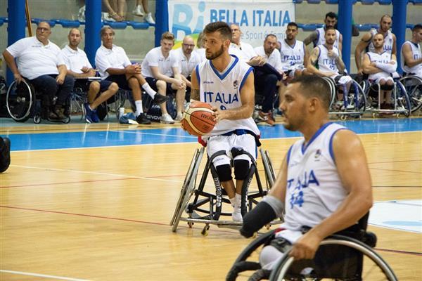 #Basket in carrozzina: Italia all\