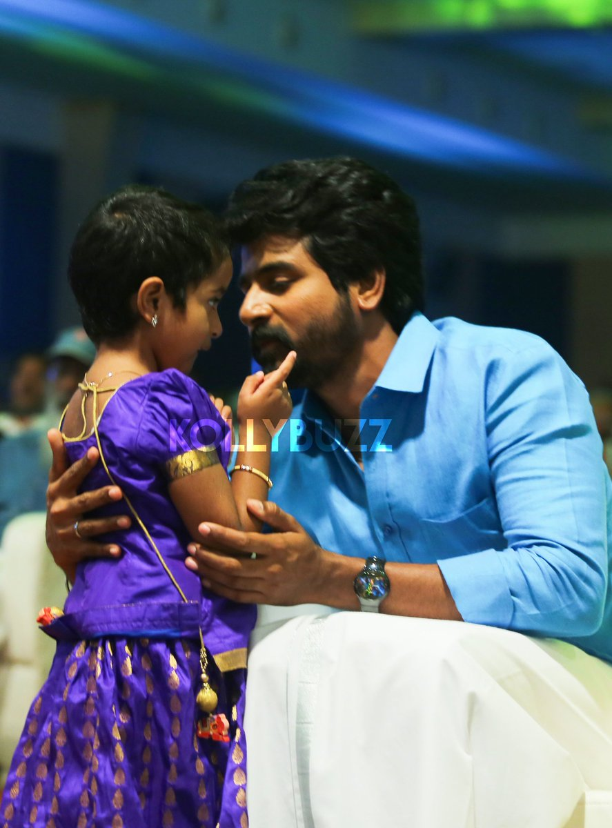 Ever cute pic of our @Siva_Kartikeyan anna &amp; our #Aaradhana papa clicked at #SeemaRajaIsaiThiruvizha ; father - daughter  #PicOfTheDay PC: @CECapture_<br>http://pic.twitter.com/inLzToJD4F