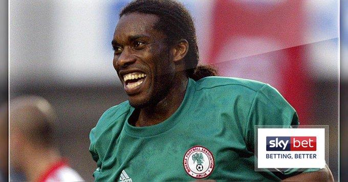 Happy birthday, Jay-Jay Okocha. The man so good, they named him twice...