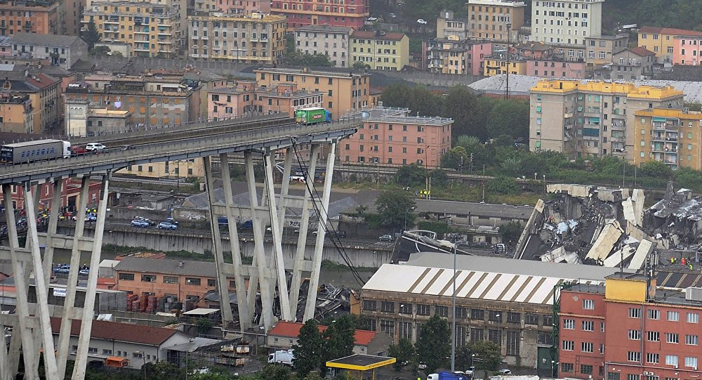 Leaked two-year-old document shows collapsed #Genoa bridge needed urgent repairs https://t.co/8VV1TX0pGK
