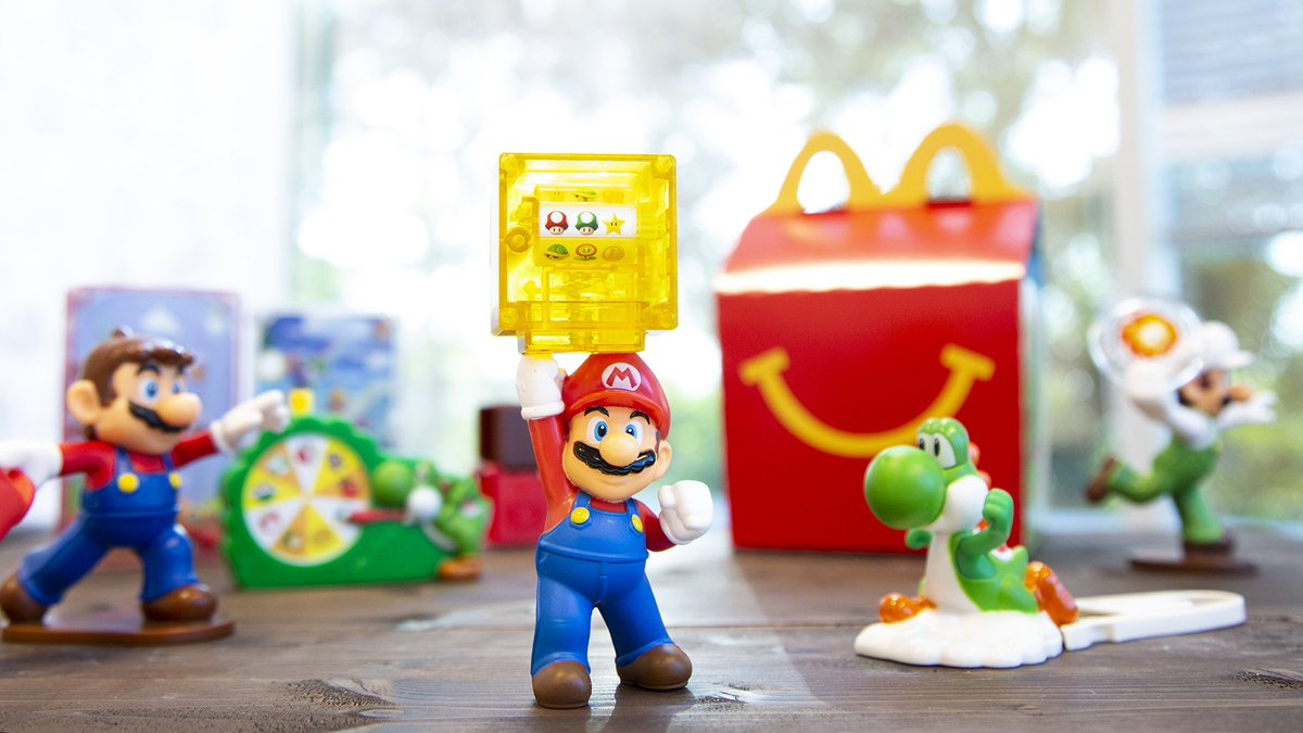 Until 8 20 Pick Up One Of Eight Interactive Toys Including Yoshi Bingo Luigi With Launchable Fire And Mario With A Throwable Cappy