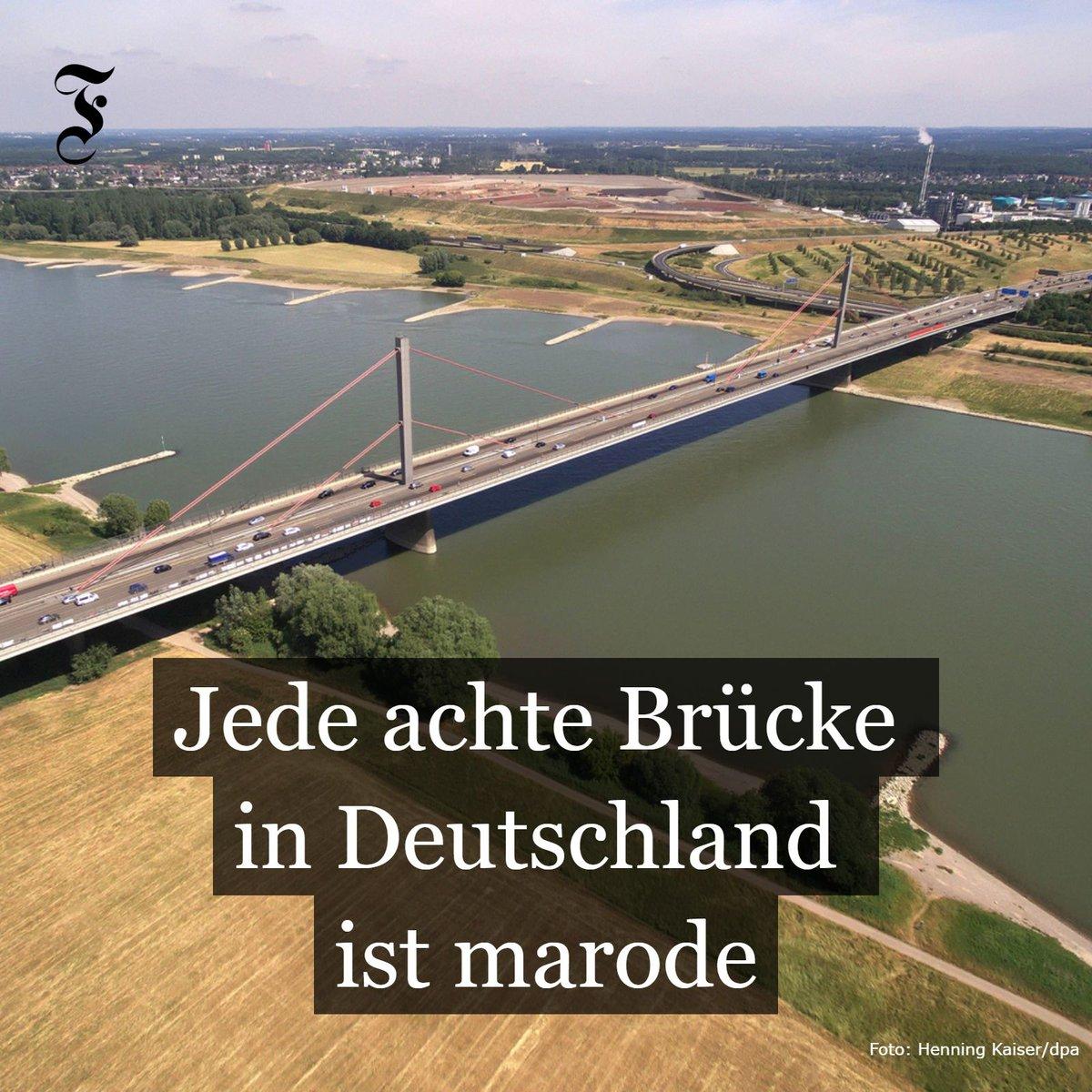 Nach dem Einsturz einer Autobahnbrücke in #Genua mit zahlreichen Toten stellt sich die Frage: Wie steht es eigentlich um Deutschlands Brücken?  https://t.co/k8aAMipcrv