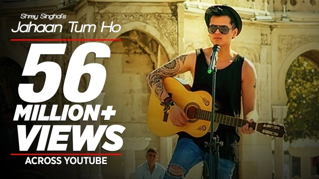 Liked on YouTube: Jahaan Tum Ho Video Song | Shrey Singhal | Latest Song 2016 | T-Series  https:// youtu.be/Hxe362w66GI  &nbsp;  <br>http://pic.twitter.com/6ZwDpJ2qOj