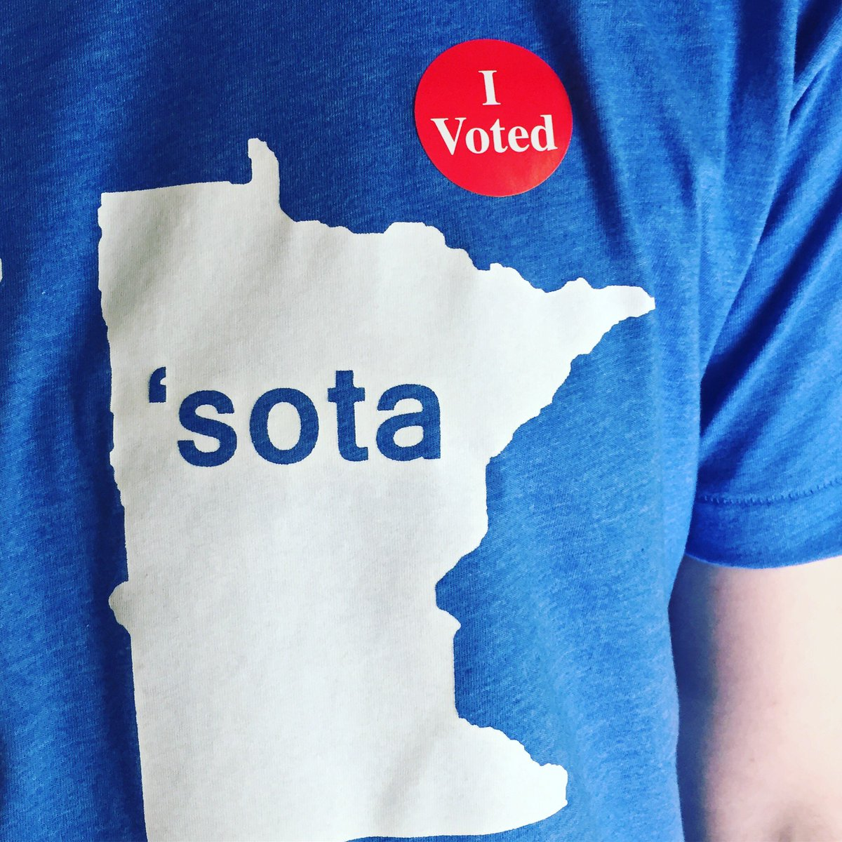 #ivoted #MinnesotaPrimary